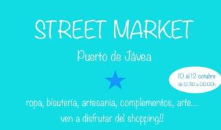 street market puerto de Javea